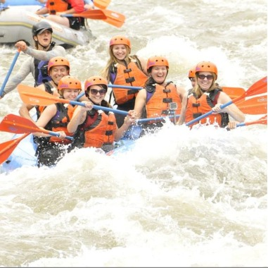 Rafting on the Arkansas River in Cañon City, CO