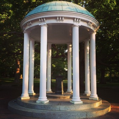The Old Well back in Chapel Hill - what a beautiful place