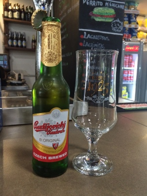 The first Budweiser beer, from the Czech Republic