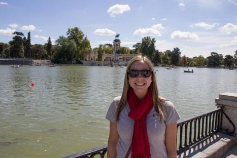 In El Parque del Buen Retiro in Madrid