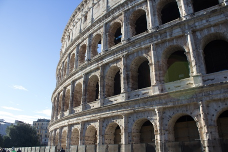The beautiful Colosseum in Rome, Italy